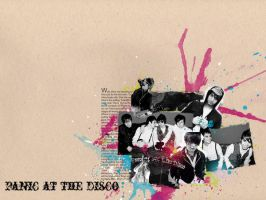 Wallpaper: Panic at the Disco by ThankyouStranger