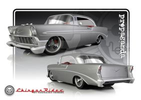 1956 Bel Air by FlyingScotsman