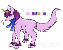 Aurora the Unikipup (custom for WonderWish02) by PurryProductions-Inc