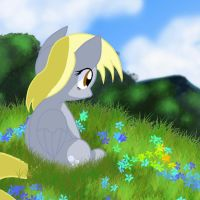 Derpy Contemplating by Pyruvate