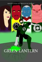 Green Lantern Movie Poster (Thor Style) by WeComeFromSpace