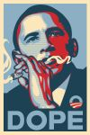 Obama Dope Poster traditional by biotwist