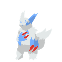 Cut out Zangoose by Draken-leader