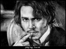 Johnny Depp XI by Kalasinar