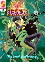 Steph Brown Adventures cover #6 by Chickfighter