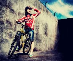 Urban Biker by Helpax