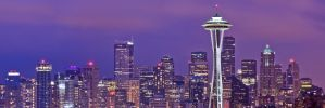 The Seattle Skyline by 2-0-1-9