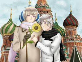 APH Request: OC Moscow and Russia - Red Square by Marce-san