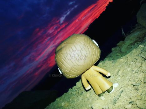 Funko Pop (Doctor Who) #1: Thats a nice sunsest! by KrachArt