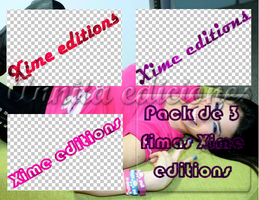Pack de firmas de Xime editions by annitaeditions
