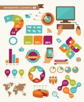 Infographic elements by DarkStaLkeRR
