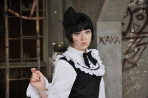 New Gothic Lolita 5 by Kechake-stock