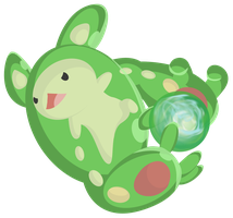 Reuniclus used Energy Ball by ezeqquiel