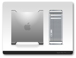 Apple Mac Pro SVG by sa-ki