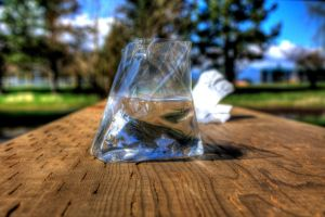 Bag of water by jverm