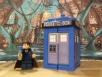 LEGO TARDIS and The Doctor by monkeymagic110