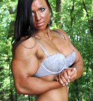 Amberly Plaski Muscle Morph2 by Turbo99