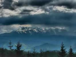 Tatra mountains in Poland by ZbyszekK