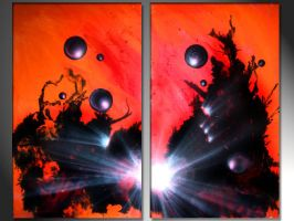 Red and black.. orbs by murrayjenkins