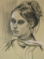 A portrait study. by hever