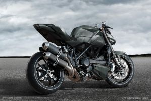 Ducati Streetfighter Jakusa Design by Jakusa1