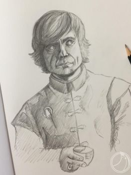 Tyrion Lannister by ammerseearts