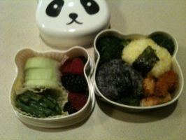 First Week of School Bento! by scr1bbl3m0nst3r