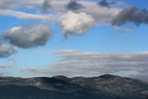 clouds on the mounts 2 by yasminstock