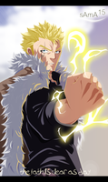 Fairy tail manga 357 - laxus by sAmA15