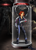 Black Widow: Agent of Ultron 2/5 (commission) by Re-Maker