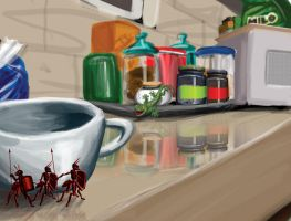 Digipaint - Ant Quest 3 by aquietfrog