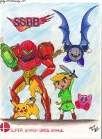 SSBB Mains by marneythecargirl
