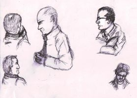 Train Sketches 1 by Anararion