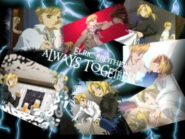 Wallpaper FMA- Elric brothers by Karechan