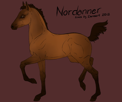 Nordanner Foal ID 2504 by feverpaint