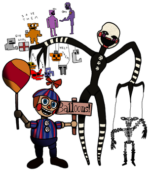 Five Nights at Freddy's: Night of Misfits by ECN13000