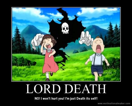 Lord Death: Motivatinal Poster by BloodyMace