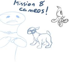 Mission 8 cameos! by dorumon210