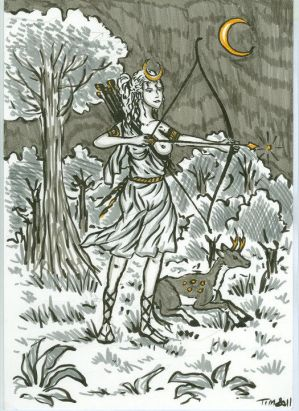 Artemis:greek mythology