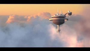 Cloud city by SaephireArt