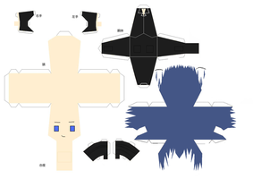 Ikuto Papercraft by Shifteryoukai