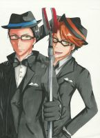 William and Ronald by MiJoo