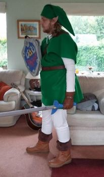 First Time Cosplay - Link (2) by SuedeHatBatLord