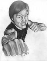 Jackie Chan by Bannercourt