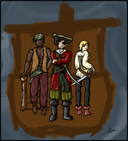 .:SKYLAND:. Pirates, yo. by LightningFlash