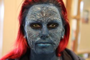 Mystique cosplay by RhavanielCreations