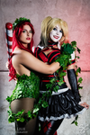 Ivy and Harley by Shermie-Cosplay