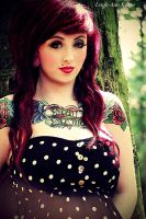 Sinead 2 - pin up girl style by Leighannieexo