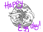 EggDay by Sterling-Needle