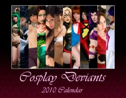 2010 Calendar: Cover by CosplayDeviants